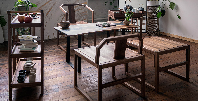 中式实木椅子