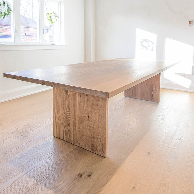 亞式实木桌