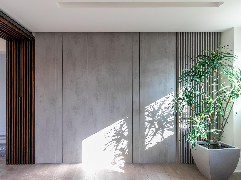 木制艺术背景墙