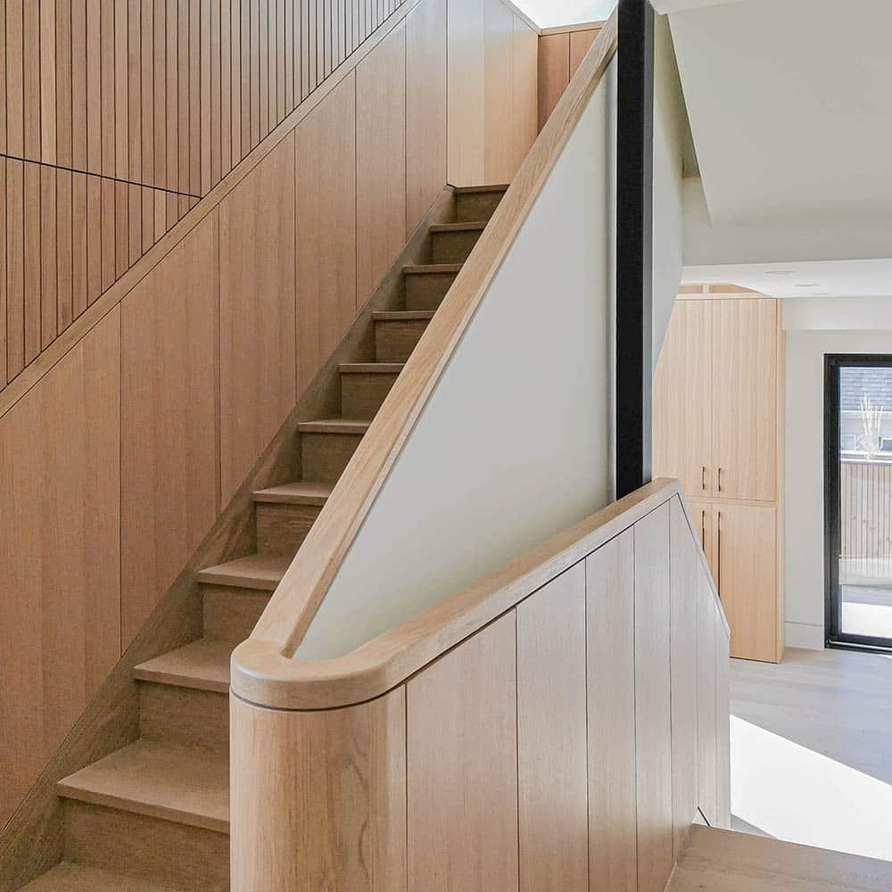 木格栅楼梯扶手