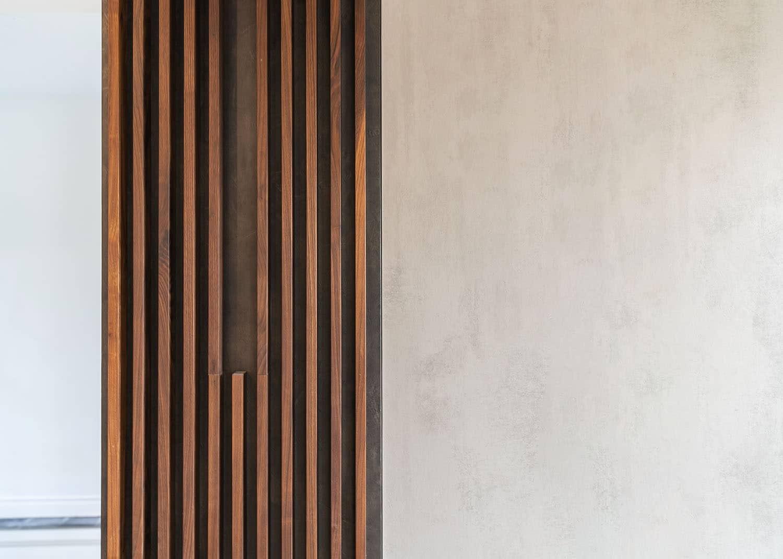 木格栅背景墙