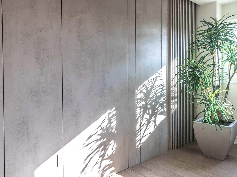 木格栅装饰墙