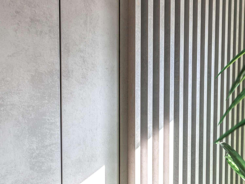 木製木格栅牆