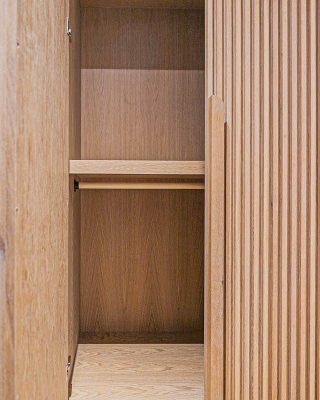 订制木格栅柜