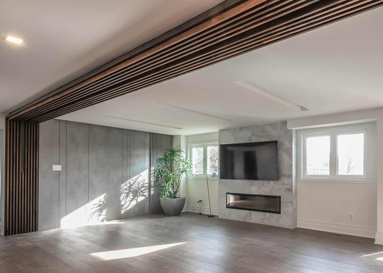 Slatted Wood Wall Panels
