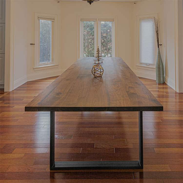 Walnut Table Design