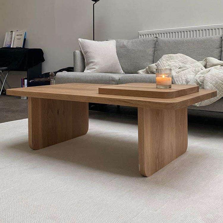 Wood Coffee Table Design