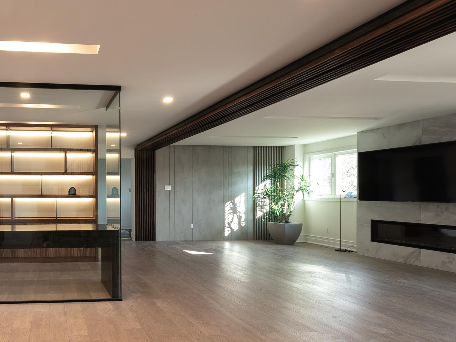 Wood Feature Wall Toronto