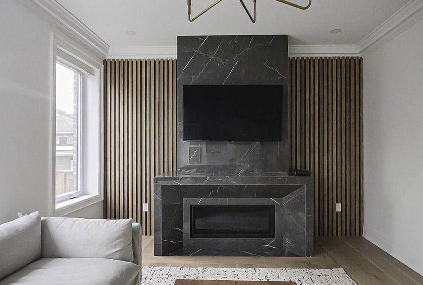 TV Wooden Wall